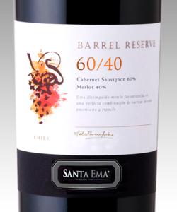 Barrel Reserve 60/40, Santa Ema
