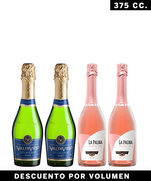 Formato vinos 500x600  pack 2 y 2  son 4 para celebrar!! blanco