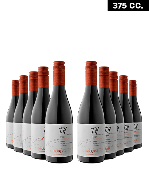 Undurraga th syrah packs de 10 blanco