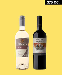 Pack blanco y tinto