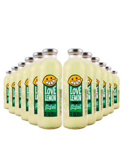 Pack 12 unidades Love Lemon Menta Jengibre