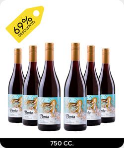 Pack 6 vinos 750cc - Pania Pinot Noir