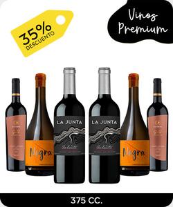 Pack 6 vinos premium / de autor 375cc - 4