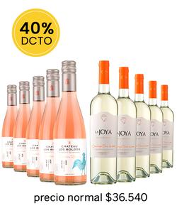 Pack 10 vinos Mix RO/SB - Veravinito!