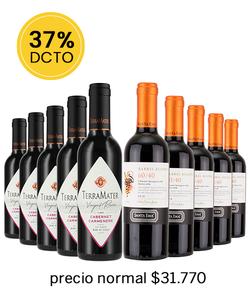 Pack 10 vinos Blend #1 - Veravinito!
