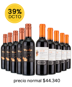 Pack 10 vinos Blend # 2 - Veravinito!