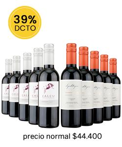 Pack 10 vinos Mix Carmenere - Veravinito!