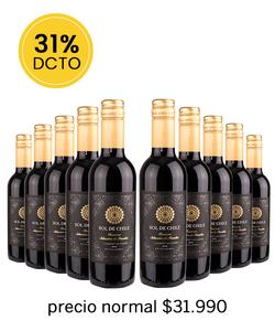 Pack 10 vinos Sol de Chile, CS - Veranito!