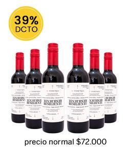Pack 6 vinos 375cc Blend, Roja