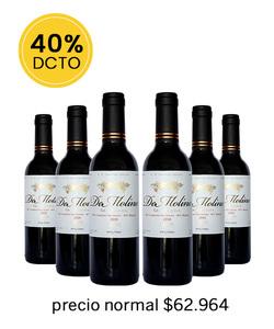 Pack 6 vinos 375cc - Blend De Molina