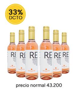 Pack 6 vinos 375cc - Pinotel, RE