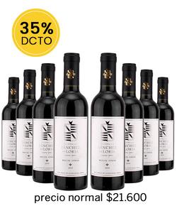 Pack 8 vinos 375cc - Petite Syrah