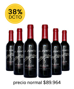 PACK 6 vinos La Junta 375CC