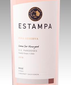 Rosé Fina Reserva, Estampa
