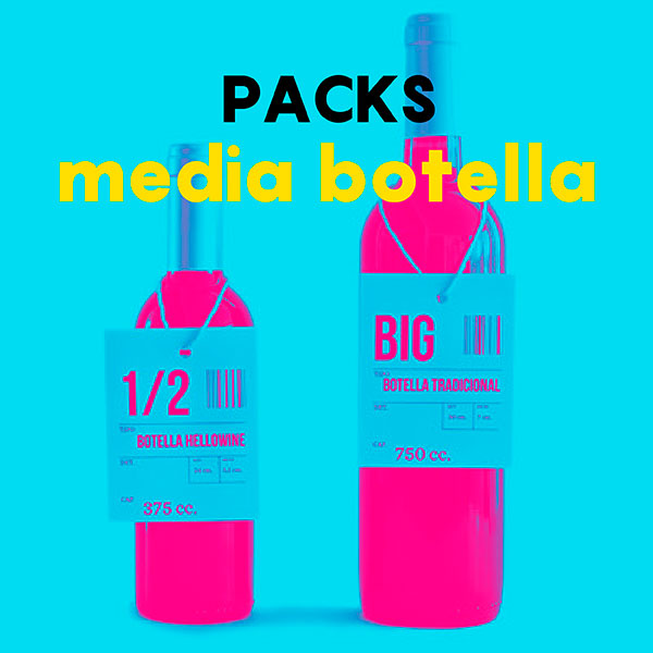 Packs media botella 24